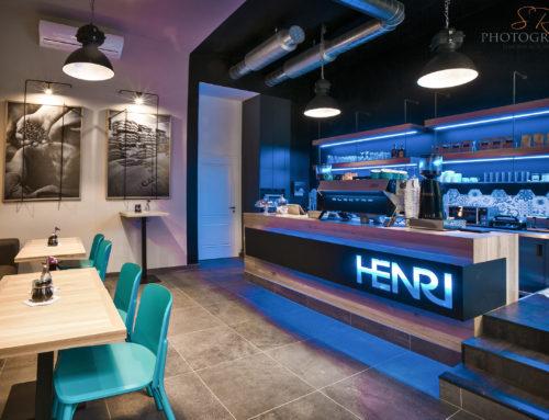 Realizace vestavby – HENRI espresso bar – Praha 1
